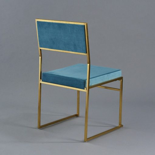 Turquoise Tribeca chair