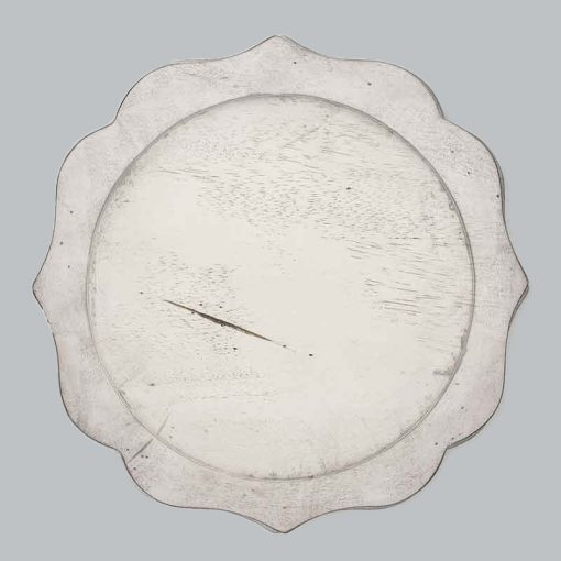 Whitewash Acacia Charger