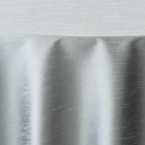 CB Silver Faux Dupioni