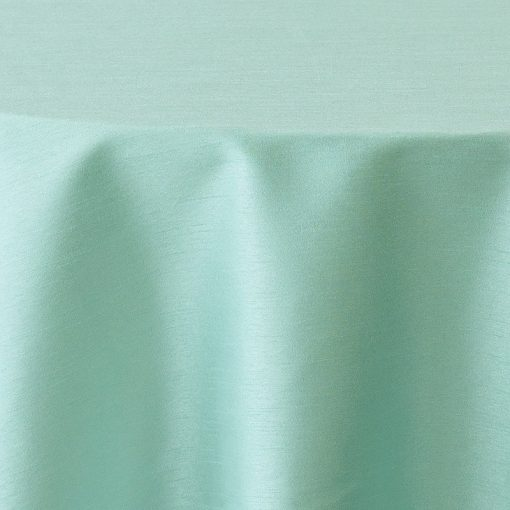 Tiffany Blue Faux Dupioni