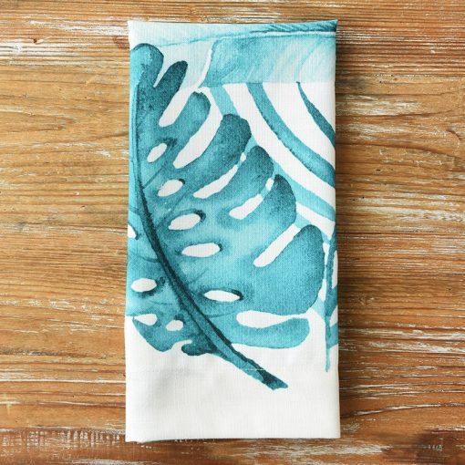 Turquoise Palm Court Napkin