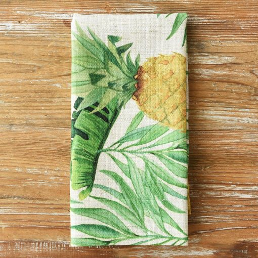 Golden Pineapple Napkin