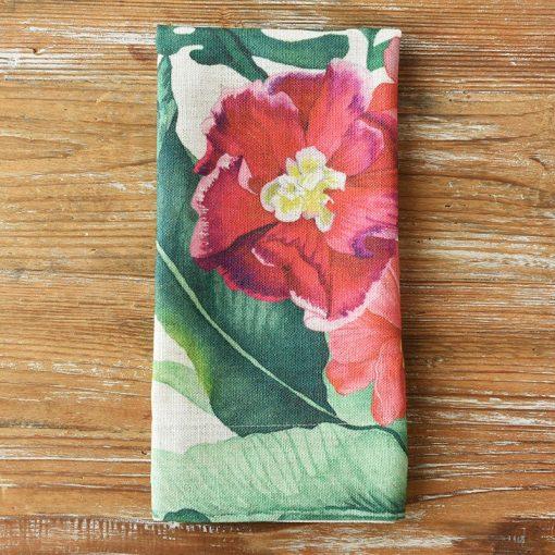 Hibiscus Palm Napkin