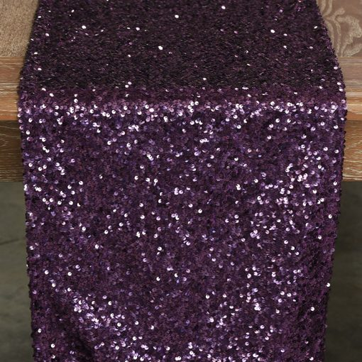 purple-sequin-taffeta-runner