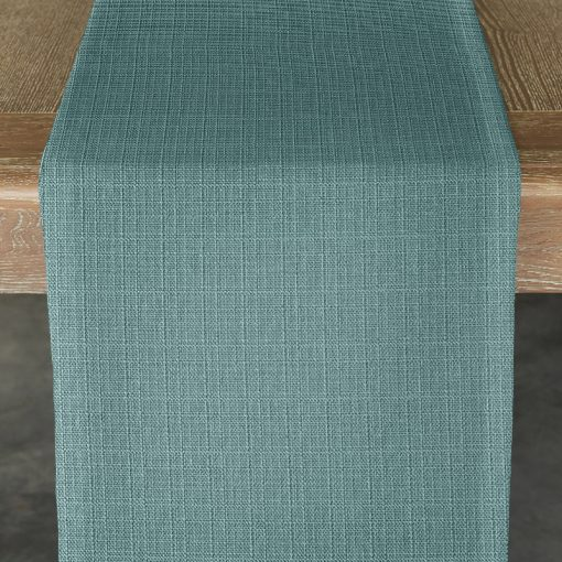 turquoise-oxford-table-runner