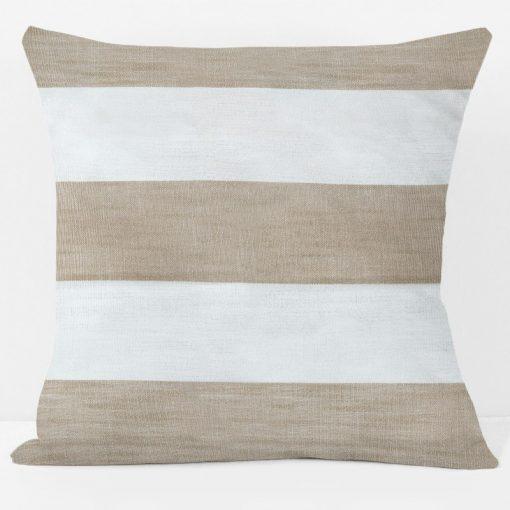 khaki-essex-stripe-pillow