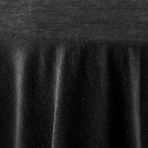 black-metallic-burlap-linen